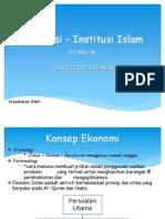 Institusi – Institusi Islam