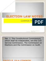 Election Law Notes - Art 9a