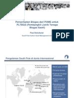Pemanfaatan Biogas Dari POME Untuk PLTBGS