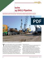 Nordeuropäische Erdgasleitung (NEL) Pipeline