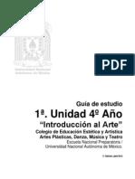 Unidad I Introducción al arte