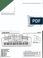 Manual Teclado CASIO MA-120