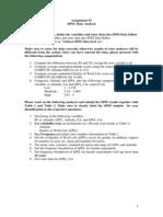Assignment of SPSS Data Analysis