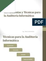Herramientas y Técnicas para la Auditoría Informática