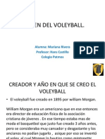 Origen Del Voleyball