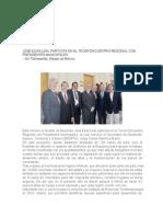 11-10-2013 'COMUNICADO Participa Pepe Elías en Encuentro Regional con Presidentes Municipales'