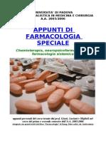 Appunti Di Farmacologia Speciale