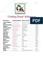 KX Clothing Brand References - PRICING!