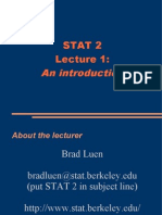 Lecture 1 on R programming