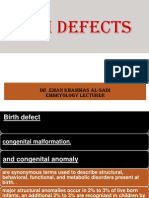10th Lecture Birth Defects