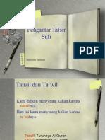 Pengantar Tafsir Sufi