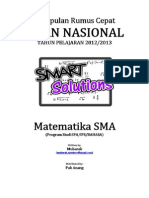 Kumpulan SMART SOLUTION Mathematics by Mubarak Spentwo