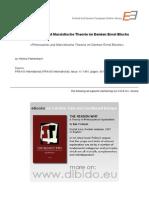 4.7 - Farenbach, Helmut - Philosophie Und Marxistische Theorie Im Denken Ernst Blochs (GER)