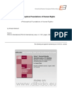 4.6 - Markovic, Mihailo - Philosophical Foundations of Human Rights (en)