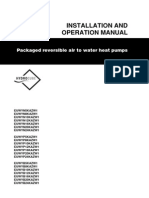 EUWY KAZW Installation and Operation Manual