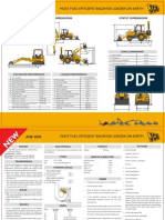 JCB 3DX Specifications Sheet