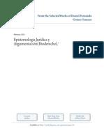 EPISTEMOLOGIA Y ARGUMENTACIÓN