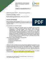 Guia Trabajo Colaborativo No 2 - Intersemestral -2013- 1