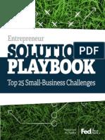 Entrepreneur Solutions Playbook Fedex