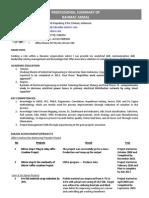 Resume June 2012