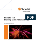 Shoretel 13 1 Maintenance Guide | Ip Address | Computer Network