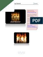 fire text