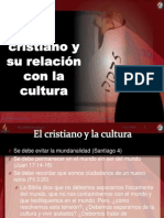 5 El cristiano y su relación con la cultura