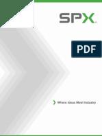 SPX Cooling System Optimization Brochure