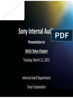 Internal Audit Sonny