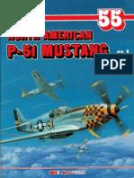 (Monografie Lotnicze No.55) North American P-51 Mustang, Cz.1