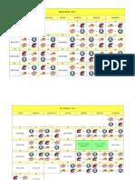 Calendario Colombiano Béisbol 2013-2014
