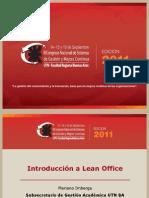 introduccinleanofficecongresocalidad2011mai-121203150051-phpapp02