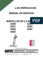 Manual de Servicio e203 Esp