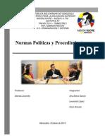 Normas Polticas y Procedimientos