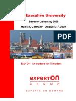 Experton IT Summer University 2009