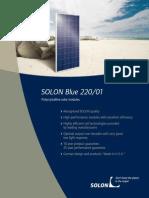 SOLON Blue 220 01 Datasheet En