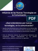 Influencia de Las Nuevas Tecnologias en La Comunicacion