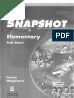 Snapshot Elementary Test Book