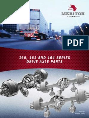 MERITOR 160 161 and 164 Serie Drive Axle Parts Spb9250 | Axle | Gear