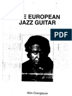 Wim Overgaauw the European Jazz Guitar