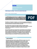 Boletín nº 184 Infoempresarias.