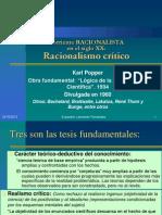 Corriente RACIONALISTA