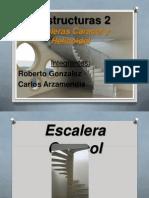 Escaleras Helicoidales