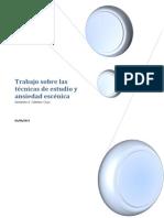 Trabajo técnicas de estudio Antonio J. Gómez Cruz