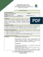 Plano de disciplina - História Ibérica