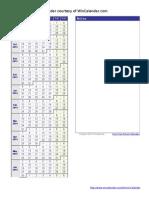 School Calendar 2013 2014 Blank