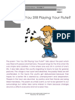 spm poems are you still playing your flute
