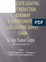 Leds Rural Lighting-cost Reductionelcoma, Vijay Gupta