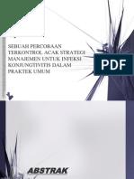 Sebuah Percobaan Terkontrol Acak Strategi Manajemen Untuk Infeksi