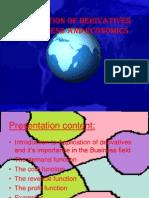 Application of Derivatives to Economics-sec1-Pres